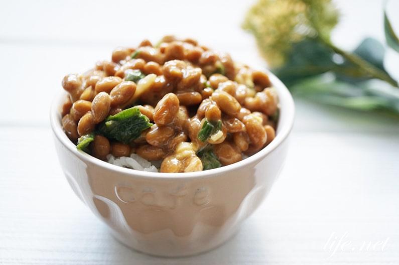抹茶納豆のレシピと健康効果。名医のTHE太鼓判で話題の食べ方。