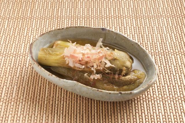 男子ごはんのナスの冷やし麺風香味ダレのレシピ。