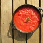 あさイチのいかのトマト煮のレシピ。塩辛風トマト煮込み。
