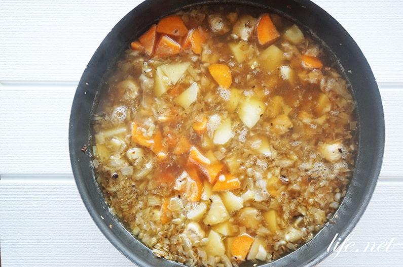 市販のルーで作る本格スパイスカレーのレシピ。あさイチで紹介。