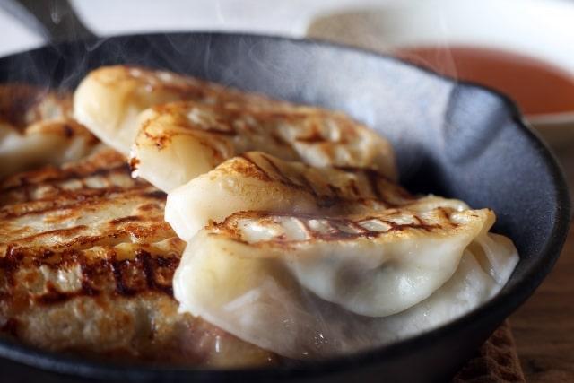 相葉マナブの枝豆餃子のレシピ。ニラの代わりに使います。