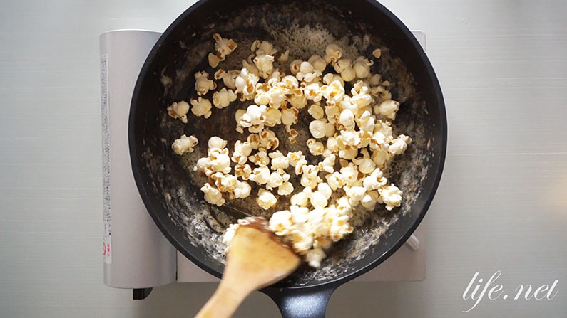 マツコの知らない世界のキャラメルポップコーンの作り方。マシュマロで!