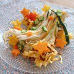 あさイチのサラダそうめんのレシピ。具沢山で野菜もたっぷり。