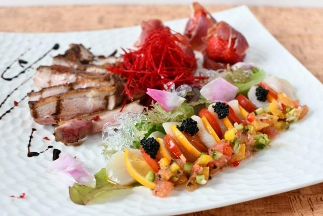 あさイチのフレンチ風焼き肉のレシピ。きゅうりソースで。