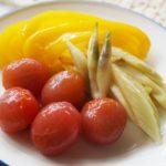 ナンプラーの甘酢漬けのレシピ。セロリやみょうが、ミニトマトにも。