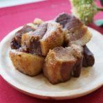レンジで簡単!角煮のレシピ。教えてもらう前と後で話題の作り方。