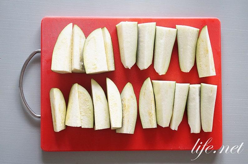 栗原はるみさんのマーボーなすのレシピ。NHKきょうの料理で紹介。
