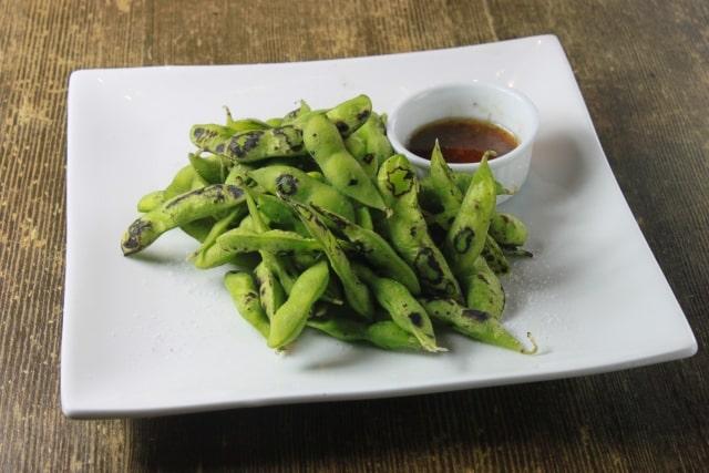 マツコの知らない世界の枝豆のごま油ガーリック炒めのレシピ。