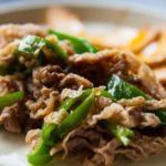 かぼちゃと豚肉の黒酢炒めのレシピ。相葉マナブで紹介。