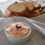 あさイチの鯖缶とマカダミアナッツのリエットのレシピ。混ぜるだけ!