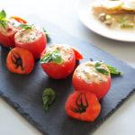 平野レミさんのトマトの丸ごとツナサラダのレシピ。モニタリングで。