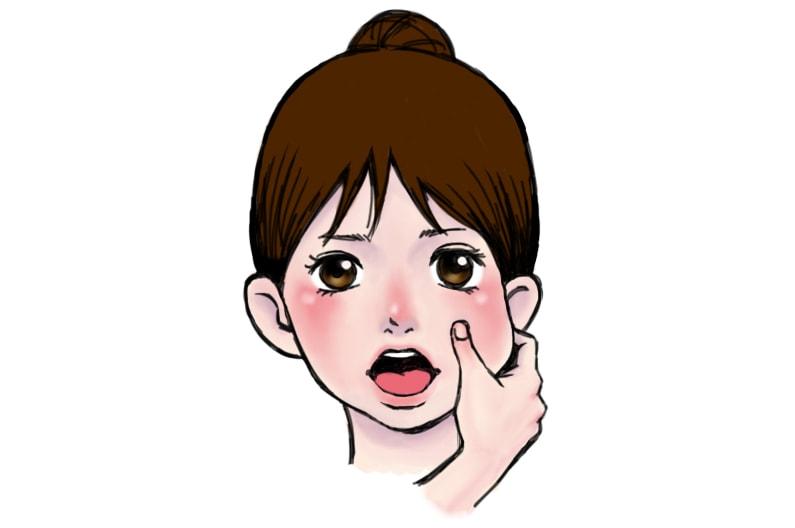 ソレダメの顔こり解消ストレッチのやり方。老け顔対策に効果的。