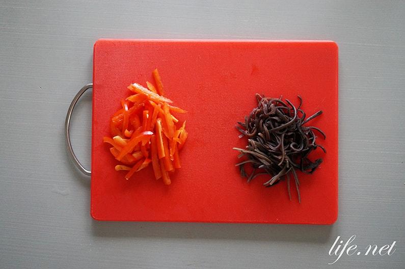 平野レミさんの吸いとりヤムウンセンのレシピ。モニタリングで紹介。