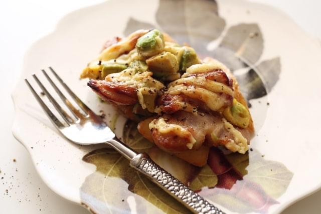 蒼井優さんのバルサミコ酢チキンアボカドディップのせのレシピ。男子ごはんで紹介。