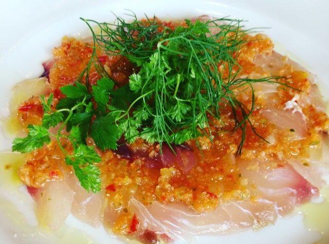 男子ごはんのイタリアン風冷製そうめんのレシピ。鯛とディルで。