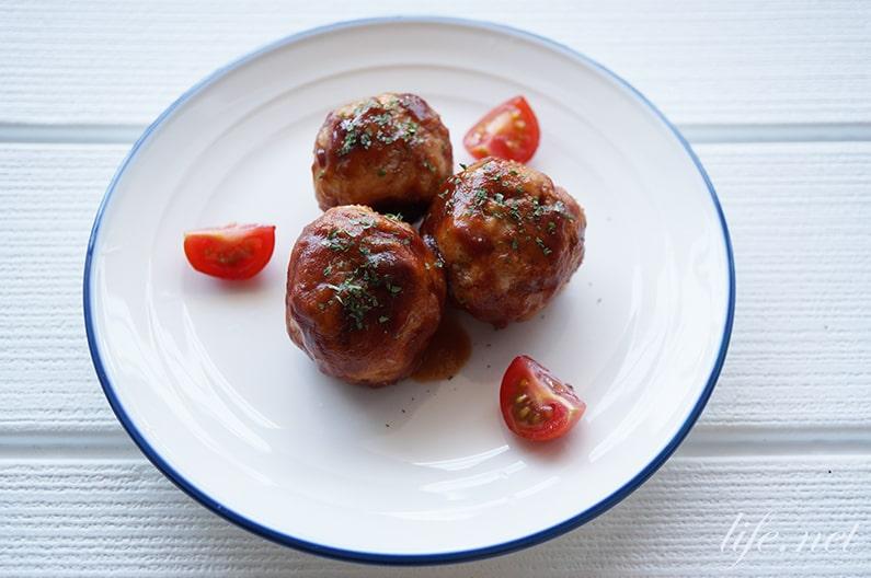 すりおろし野菜のミートボールのレシピ。あさイチで話題の作り方。