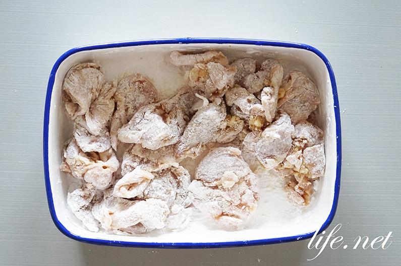 あさイチの白だし唐揚げのレシピ。ジョニーのからあげの作り方。