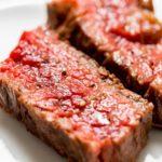 志麻さんの牛ステーキの黒こしょう風味のレシピ。粒こしょうで。