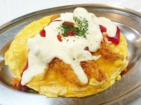 秘密のケンミンショーのハントンライスのレシピ。石川県で人気。