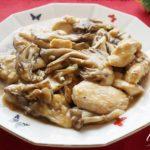 舞茸と鶏胸肉の山東風炒めのレシピ。あさイチで紹介。