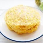 あさイチかぼちゃのパンケーキのレシピ。砂糖不使用でダイエットにもおすすめ。