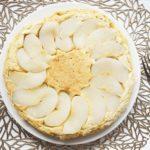 梨パンケーキのレシピ。ホットケーキミックスで!簡単梨ケーキ。