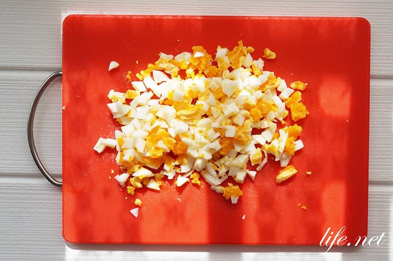 ベーコンたまごサンドのレシピ。絶品カルボナーラサンドイッチ。