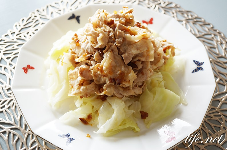 平野レミさんの豚眠菜園の作り方。キャベツと豚しゃぶの絶品レシピ。