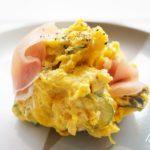 かぼちゃの煮物サラダのレシピ