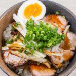 秘密のケンミンショーの焼豚玉子飯レシピ。愛媛県のご当地料理。