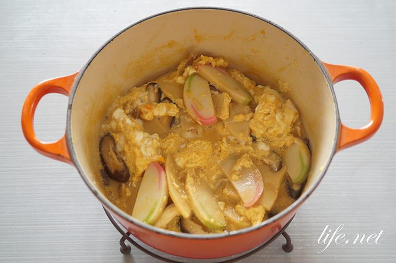 木の葉丼のレシピ。ケンミンショーで話題の大阪で人気の卵とじ丼。