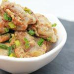 砂肝の花椒炒めの作り方。男子ごはんで話題のレシピ。