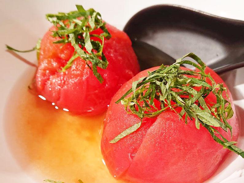 ミニトマトとモッツァレラチーズのおでんのレシピ。洋風に楽しめる。