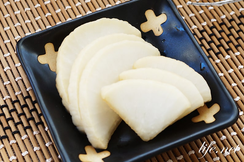 あさイチのべったら漬け風大根のレシピ。塩麴なしの簡単な作り方。