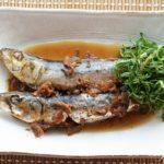 栗原はるみさんのいわしの梅昆布煮のレシピ。きょうの料理で紹介。