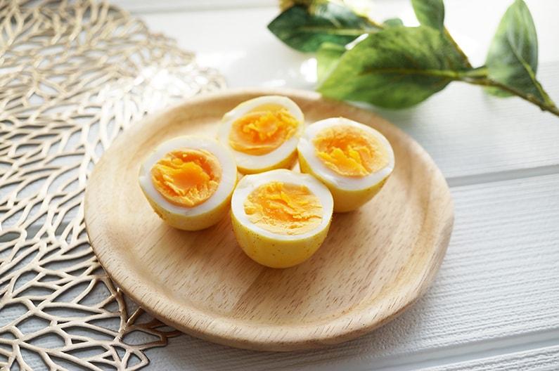 カレー味の煮卵