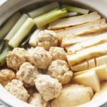 鶏団子鍋のレシピ。ケンタロウさんの絶品肉団子鍋。
