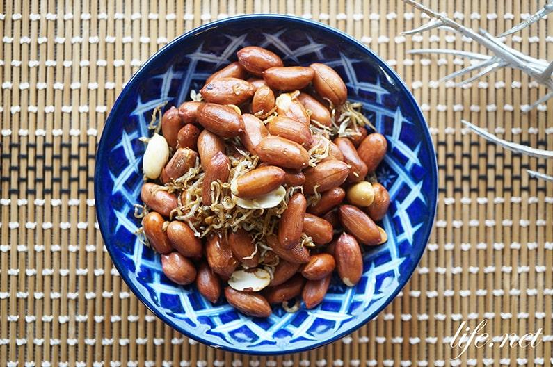 じゃこピーナッツ炒めのレシピ。青空レストランで話題、おつまみに!