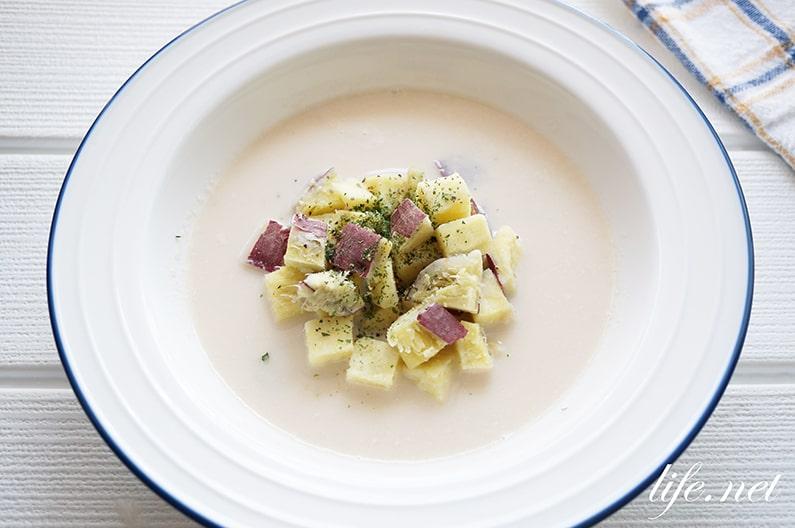 アーモンドミルクスープのレシピ