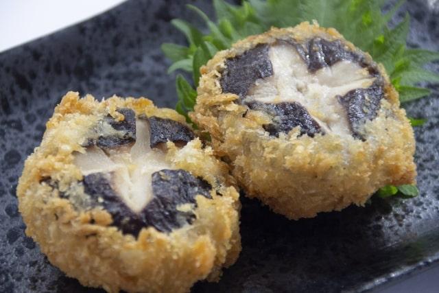 相葉マナブのしいたけフライのレシピ。タレカツ丼にもおすすめ。