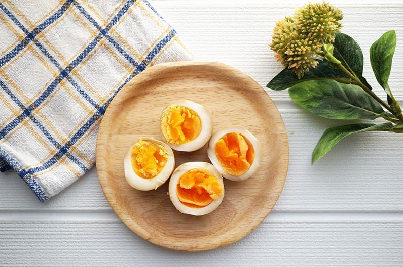 だし醤油味の煮卵