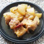 男子ごはんの豚の花椒角煮のレシピ。大根入り!圧力鍋なしで簡単。