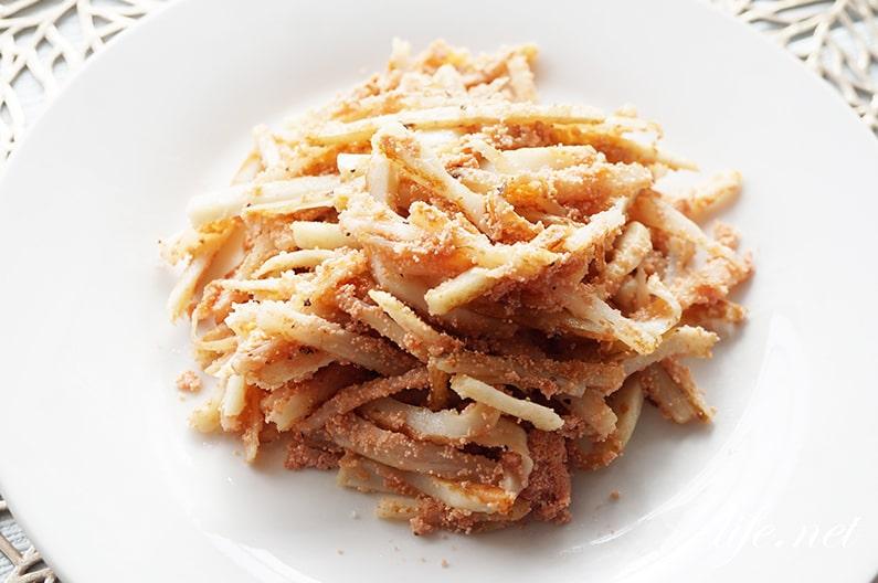 家事ヤロウのちくわと長芋の明太チーズ炒めのレシピ。簡単!