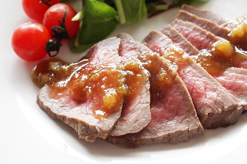 あさイチのローストビーフのレシピ。フライパンで出来る作り方。