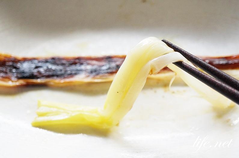 あさイチのネギの一本焼きのレシピ。フライパンとトースターで簡単!