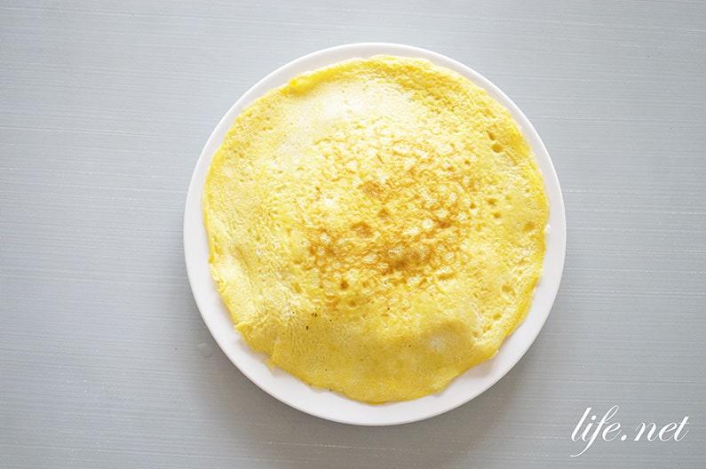 あさイチのレンチンお好み焼き風のレシピ。小麦粉なしで簡単!