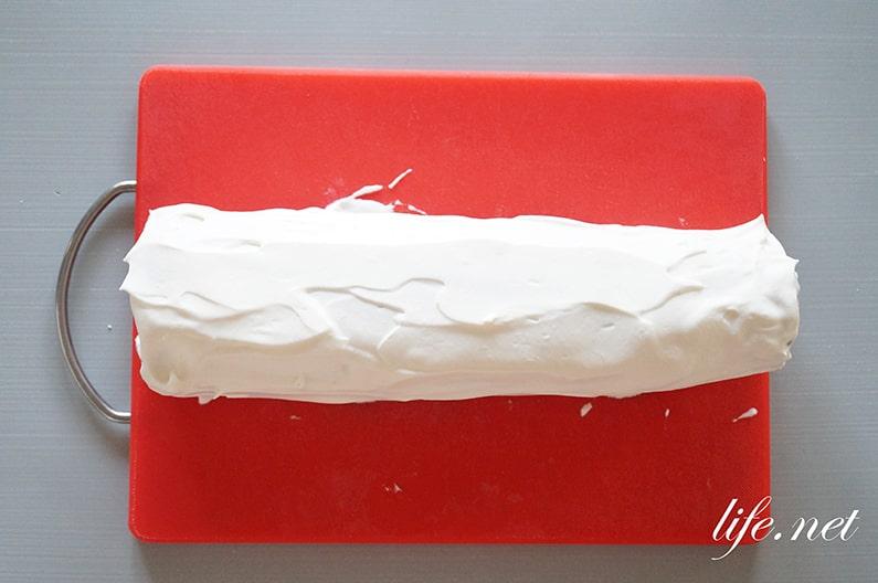 あさイチのブッシュドノエルのレシピ。クリスマスケーキの作り方。