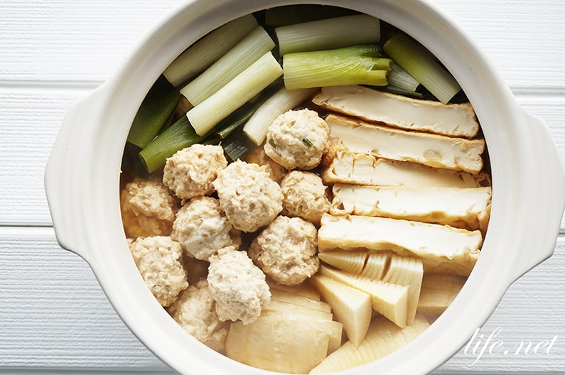 ふわふわ鶏団子の作り方。マヨネーズを入れるだけ。