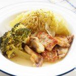 大原千鶴さんの豚肉とキャベツの重ね煮のレシピ。きょうの料理で話題。