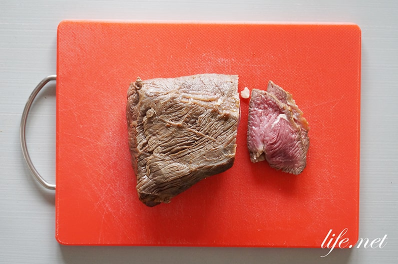 あさイチの湯煎ローストビーフの作り方。茹でて失敗しない作り方。